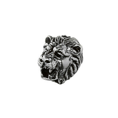 Ehrlichkeit Haarschmuck Bartperle Lion Löwenkopf 925 Sterlingsilber Lockenperle 6391 Ohne RüCkgabe