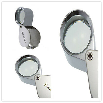 30x21mm Triplet Jewelers Eye Loupe Magnifier Magnifying Glass Jewelry Diamond M2