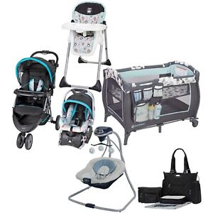 Combo Boy Stroller with Car Seat Blue Travel System ...