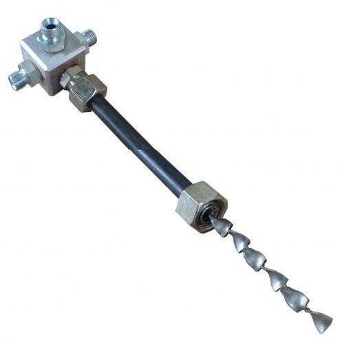 Miscelatore statico per prodotti BICOMPONENTI  - lunghezza 40 o 60 cm
