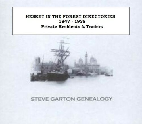 GENEALOGY DIRECTORY FOR TOWNS /& VILLAGES IN CUMBERLAND 1847-1938