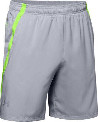 Men/'s Under Armour UA Launch SW 18 cm Branded Shorts 1326574 New Size L