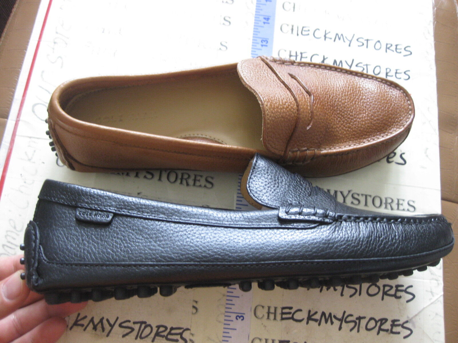 Cole Haan Grant Canoe Penny C12132  Tumbled Pelle Driving Mocs CHOOSE SIZE COL
