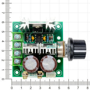 10A 12-40V DC Pulse Modulation 13khz PWM Motor Adjuster Speed Control Switch
