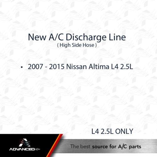 92490-ZN50A AC A//C Discharge Line Fits 2007-2015 Nissan Altima L4 2.5L