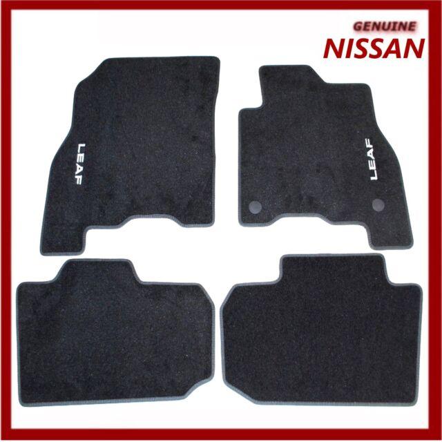 Nissan Leaf 2018 Ev Velour Carpet Floor Mats Genuine Ke7555s001 For