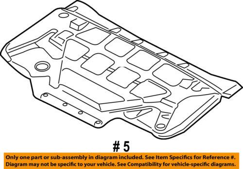 FORD OEM 15-16 F-150 Hood-Insulation Pad Liner Heat Shield FL3Z16738A