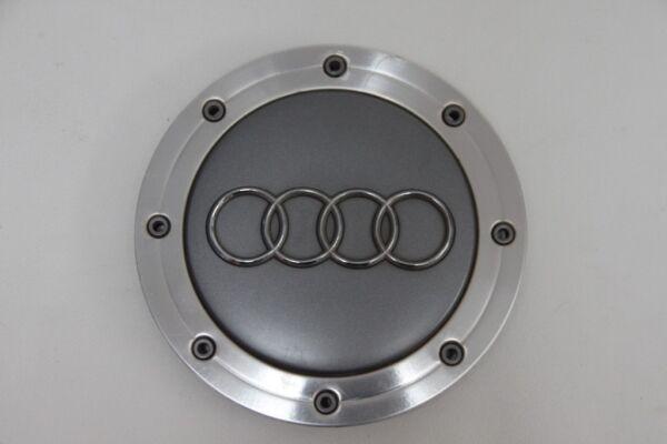 1x Audi A4 8d B5, A6 4b C5, A8 4d D2 / 4e D3 Nabendeckel Alufelge, 4b0 601 165 A