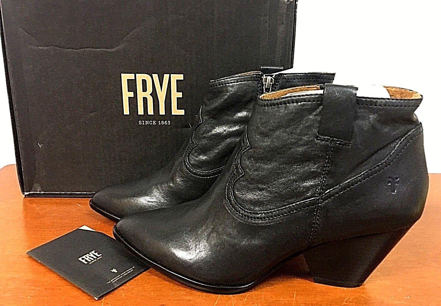 Nuevos Zapatos para mujer mujer para reina botín de Frye-tamaño 5.5, 7.5, 8.5, 9-Negro - 8N_21 854dab