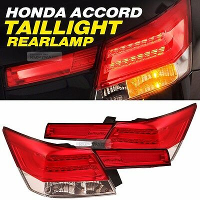 For HONDA 2009 10 11 ACCORD LED Surface Emitting Tail Light Rear Lamp New Type