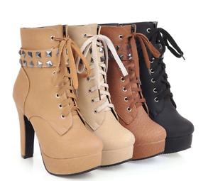 botas bajo cómodo negro beige marrón elegantes cómodo bajo 12 como piel 9396 0d4de7