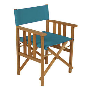 Turquoise Director Chairs Replacement Water Resistant