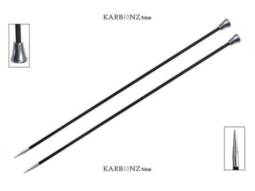 :Karbonz Single Pointed Needles: 4.00 mm 35 cm 6 US 14 in Knitter/'s Pride