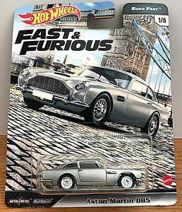 Hot Wheels 2020 Aston Martin Db5 Fast Furious Euro Premium 1 64 Gbw75 Nip 887961888577 Ebay