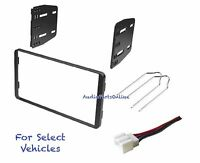 Double Din Radio Kit Combo For Some 98-11 Ford Ranger F150 Explorer Excursion