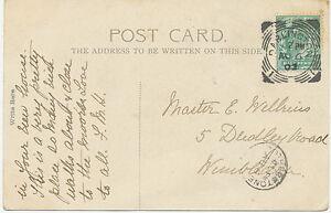 GB-DARLINGTON-1-Squared-Circle-Postmark-rare-used-as-transit-postmark-RRR