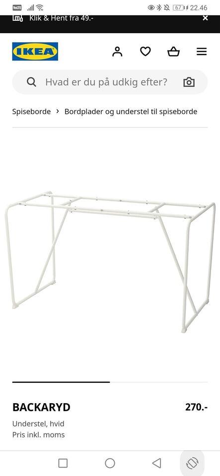 Spisebord, Bambus, IKEA