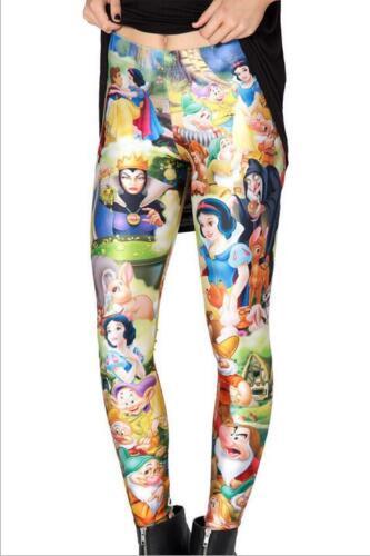 Snow White Princesses Digital Printed Leggings Sports Punk Legging Women Legging