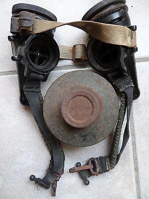 Rare masque à gaz Allemand 39/45 pour cheval  Pferde gasmaske  gas mask horse