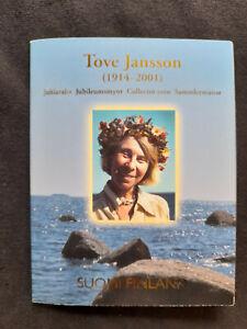 Pièce de 10 Euro Argent Finlande 2004 BU en Coincard Tove Jansson (1914 - 2001)