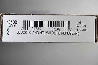 America the Beautiful Unopened 2018 PDS Block Island Quarter Roll