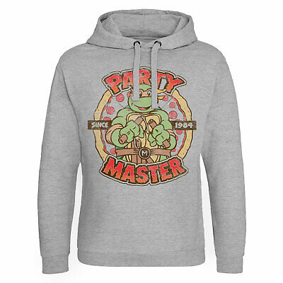 Officially Licensed TMNT Party Master Since 1984 Men/'s T-Shirt S-XXL Sizes