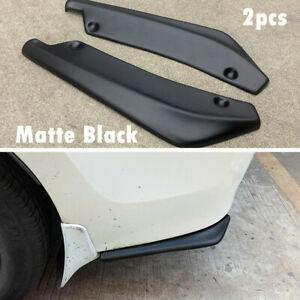 Car Bumper Spoiler Accessories Rear Lower Lip Splitter Diffuser Protector