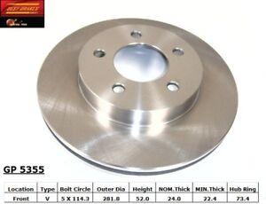 Disc-Brake-Rotor-Standard-Brake-Rotor-Front-GP5355-fits-1993-Chrysler-Intrepid
