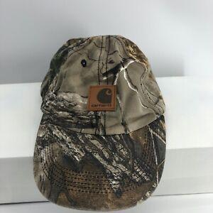 Carhartt-Child-Hat-Realwood-Camo-Cotton-Adjustable-One-Size