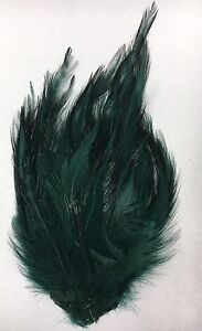 A1-Vintage-Feathers-Plume-For-Hats-Hat-Costume-Millinery-Supplies-Green