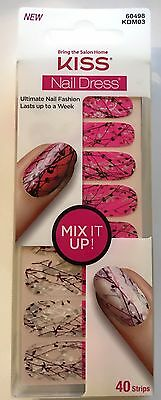 Kiss Nails Nail Dress Strips Mix it Up Strips # 60498 / KDM03 Paint Splatter