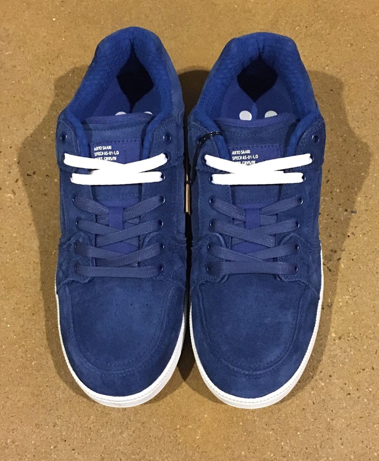Gravis Viking Arto Saari Size 8 US True Blue Burton BMX DC Skate Shoes Deadstock