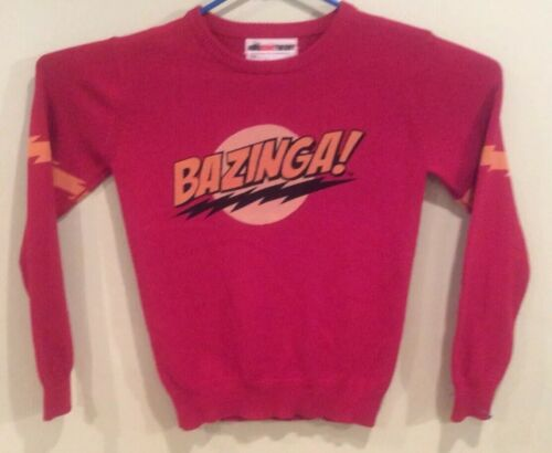 The Big Bang Theory 100% Cotton Red Sweater (Bazin