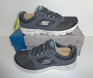 Skechers Ladies WIDE FIT Charcoal