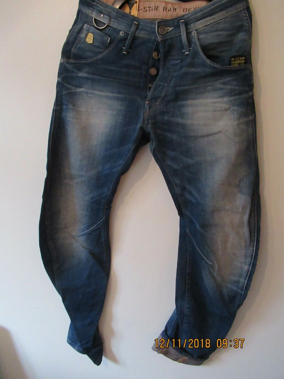 G Star Raw Unique 3D loose Men Jeans