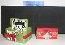 Stampin Up BOX #2 Sizzix XL Bigshot Die Perfect for candy Treats Carrier
