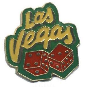 Hat-Lapel-Push-Pin-Tie-Tac-City-Las-Vegas-Dice-NEW
