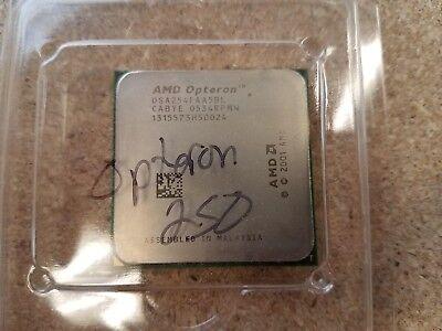 AMD OSA254FAA5BL CAB2E 0543GPMW OPTERON 250 2.8GHZ//1M//1000 SOCKET 940 PROCESSOR