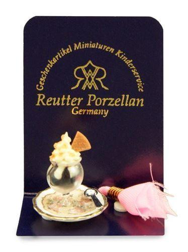 Reutter Porzellan Sundae Ice Ice Ice Coppa Puppenstube Casa di Bambole 1 12 87e332