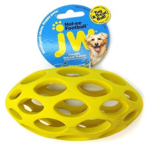 JW Hol-eeFootball Mini  Dog Toy Grooming
