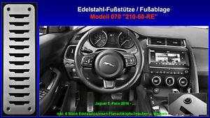 Juste Repose-pieds Repose-pieds Pédale Jaguar E-pace P250 P300 Awd 2016 2017 2018 Acier Inoxydable-afficher Le Titre D'origine