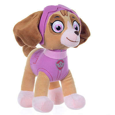 "NEW OFFICIAL 12/"" PAW PATROL MIGHTY PUPS SKYE SOFT PLUSHTOY"