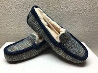 Ugg Ansley Fancy Navy Tweed Sandal Moccasin Us 9 / Eu 40 / Uk 7.5 -