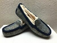 Ugg Ansley Fancy Navy Tweed Sandal Moccasin Us 9 / Eu 40 / Uk 7.5 -