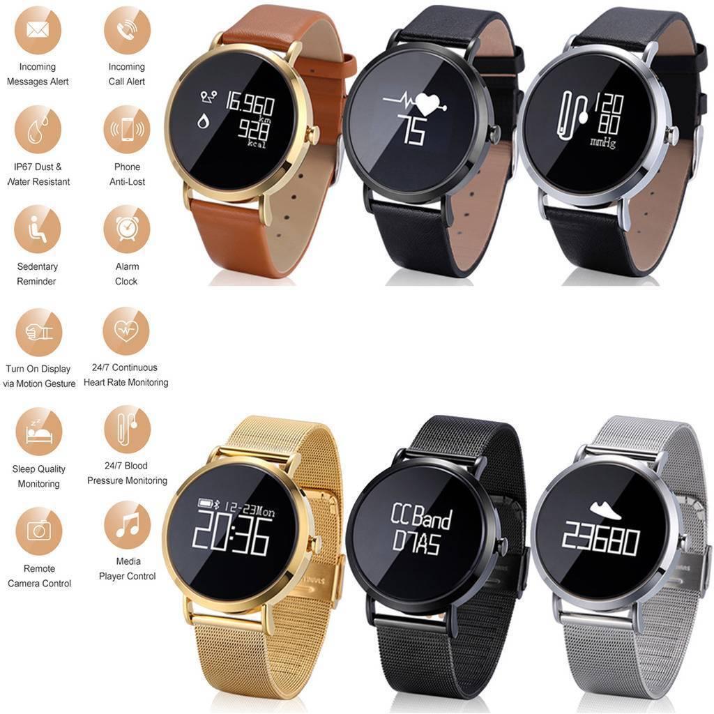 Women Men Bluetooth Smart Watch Heart Rate Monitor for Samsung S9 S8 S7 Note IOS bluetooth Featured for heart men monitor rate samsung smart watch women