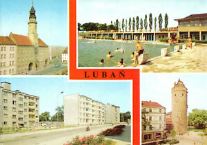 AK, Lubań, Lauban, cztery ilustracje, vier Abb., 1985