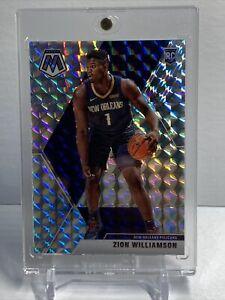 2019-20-Mosaic-Basketball-Zion-Williamson-Rookie-Silver-Mosaic-Prizm-PSA