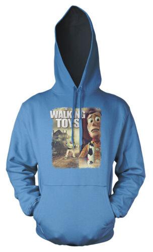 Walking Dead Toy Story Buzz Lightyear Woody sbriciolare Bambini Felpa con Cappuccio