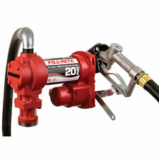 Fill Rite Fr4210h 12 Volt Dc High Flow Fuel Transfer Pump With Hose And Nozzle