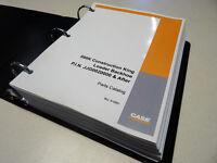 Case 580k Loader Backhoe (phase 3) Parts Catalog, Manual, Book, With Binder